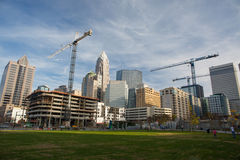 Uptown Charlotte, North Carolina Stock Image