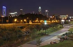Uptown Charlotte, North Carolina Royalty Free Stock Photography
