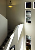 Uptown luxury loft home stairway Stock Photos