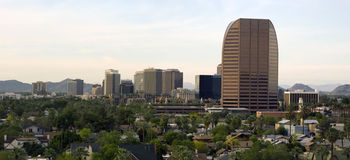 uptown phoenix панорамы Стоковое Изображение RF