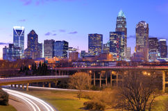 Uptown Skyline Royalty Free Stock Images