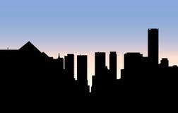 Uptown Toronto Skyline Royalty Free Stock Images