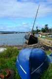 Upturned Boat Stock Photography
