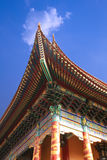 Upturned eaves of chinese temple Royalty Free Stock Images
