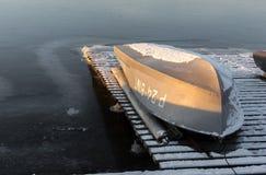 upturned fartyg Fotografering för Bildbyråer