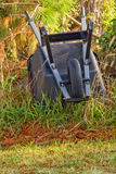 Upturned wheel barrow Royalty Free Stock Photo