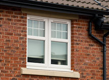 UPVC Double Glazed Unit Royalty Free Stock Photos