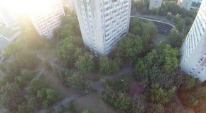 Upview del parco Fotografie Stock Libere da Diritti