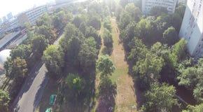 Upview do parque Fotografia de Stock