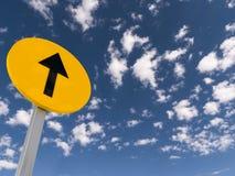Upward arrow sign Royalty Free Stock Image