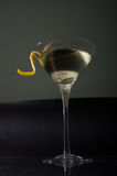 Upward martini Royalty Free Stock Image