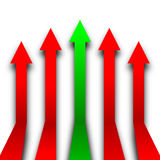 Upward Trend Royalty Free Stock Images