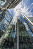 Upward view of the CityPoint skyscraper, London UK Royalty Free Stock Photo