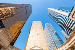 Upward view of modern building Royalty Free Stock Photography