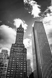 Upward view of New York City Skyscrapers. United States Stock Images