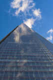 Upward view of the Shard Stock Photo