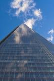 Upward view of the Shard Stock Photo