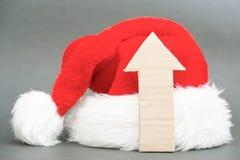 Upwards for christmas Stock Photos