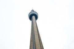 Upwards het bekijken de Canadese Nationale CN Toren royalty-vrije stock foto
