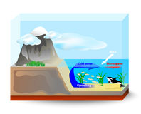 Upwelling currents Stock Photos