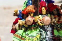 Uquia op Quebrada DE Humahuaca in Jujuy, Argentinië Royalty-vrije Stock Afbeeldingen