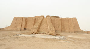 Ur Ziggurat 免版税库存照片