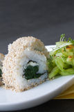 Ura Maki Sushi Royalty Free Stock Images