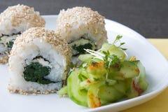 Ura Maki Sushi Royalty Free Stock Image