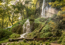 Urach waterfall Stock Photography