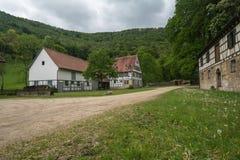Uracher Wasserfälle, плохое Urach, Германия Стоковые Изображения RF