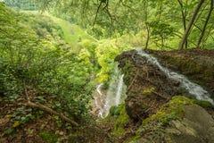 Uracher Wasserfälle, плохое Urach, Германия Стоковое фото RF