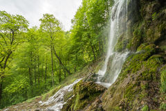 Uracher Wasserfälle, плохое Urach, Германия Стоковая Фотография