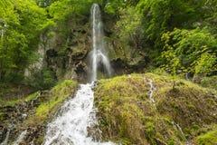 Uracher Wasserfälle, плохое Urach, Германия Стоковая Фотография RF