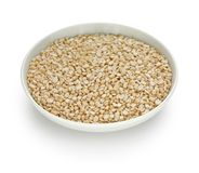 Urad dal in a small dish Royalty Free Stock Photo