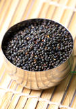 Urad whole lentil Royalty Free Stock Photo