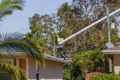 Uragano Irma Damage Fotografia Stock Libera da Diritti