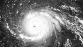 Uragano Irma sul suo modo alla costa di Florida stock footage