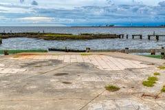 Uragano Katrina fotografie stock