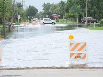 Uragano locale di inondazione debby Immagini Stock Libere da Diritti