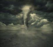 Uragano nel deserto Immagini Stock Libere da Diritti