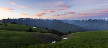 Uragano Ridge, NP olimpico Fotografia Stock