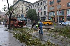 Uragano Sandy Immagine Stock