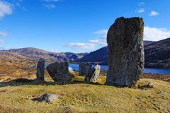 Uragh Stone Circle Stock Photos