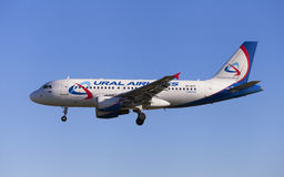 Ural Airlines Airbus A319 Imagem de Stock Royalty Free