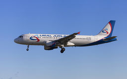 Ural Airlines Airbus A320 Fotos de Stock