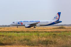 Ural Airlines Airbus A320 stock image