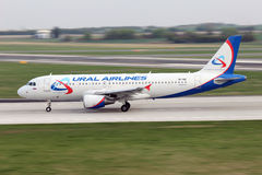 Ural Airlines Stock Image