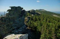 Ural berg i sommartiden royaltyfri foto