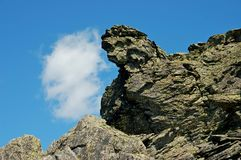 Ural berg i sommartiden arkivbild