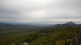 Ural bergsikt Arkivbild